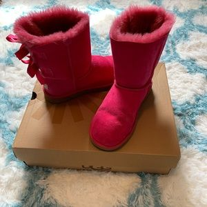 Pink Bailey Bow Uggs
